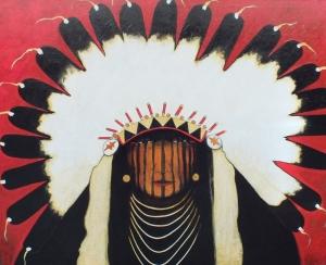 Good Bear - Indian in War Bonnet