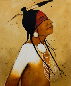 Thanking the Great Spirit