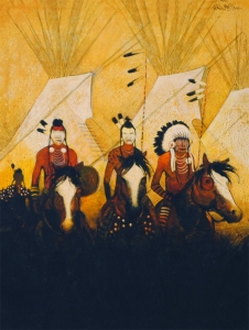Mountain Crow Indians