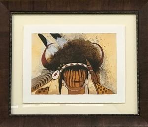 Buffalo Medicine Crane