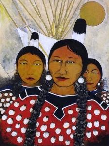 Three Apsalooka Sisters