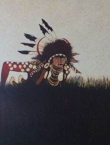 Two Strikes - Crow Indian Scout