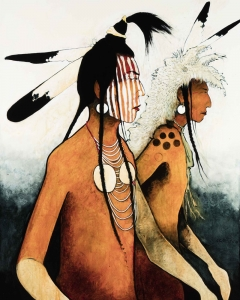 Crow Indian Warriors