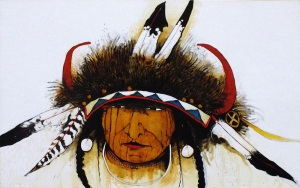 Mountain Crow Indian