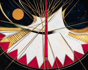 Abstract Tipi #7