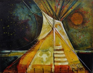 Crow Bison Tipi