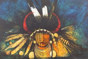 Crow Indian Elder & Healer