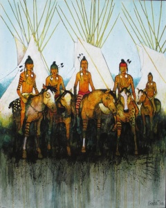 Crow Indian Riders