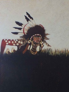 Crow Indian Scout - Two Strikes