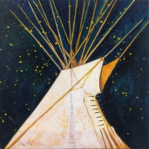 Crow Indian Tipi #2