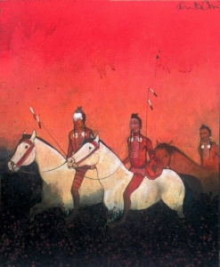 Crow Indian War Party