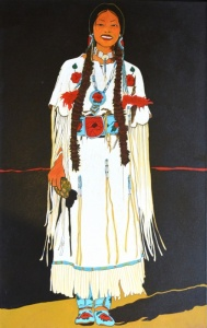 Crow Indian Woman - Walla