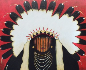 Good Bear - Indian in War Bonnet