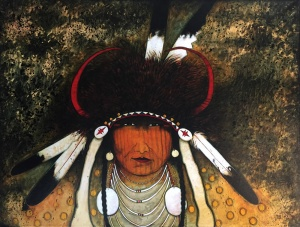 Indian Medicine Man - Black Wolf