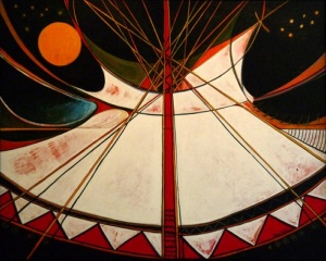 Crow Tipi (Night Lodges with Stars)