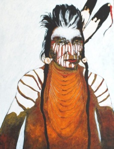 Wolf - Crow Indian Man