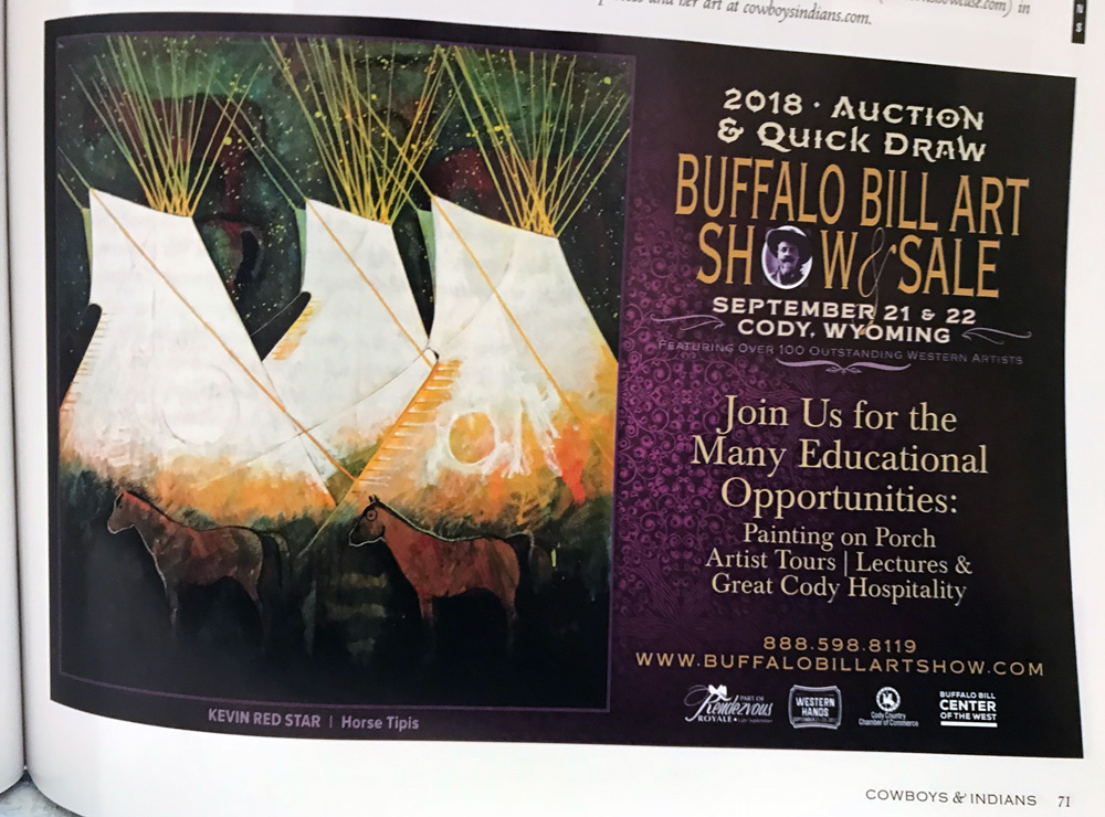 37th Annual Buffalo Bill Art Show & Sale – Rendezvous Royale